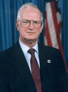 Gene Rainey, professor emeritus of Political Science